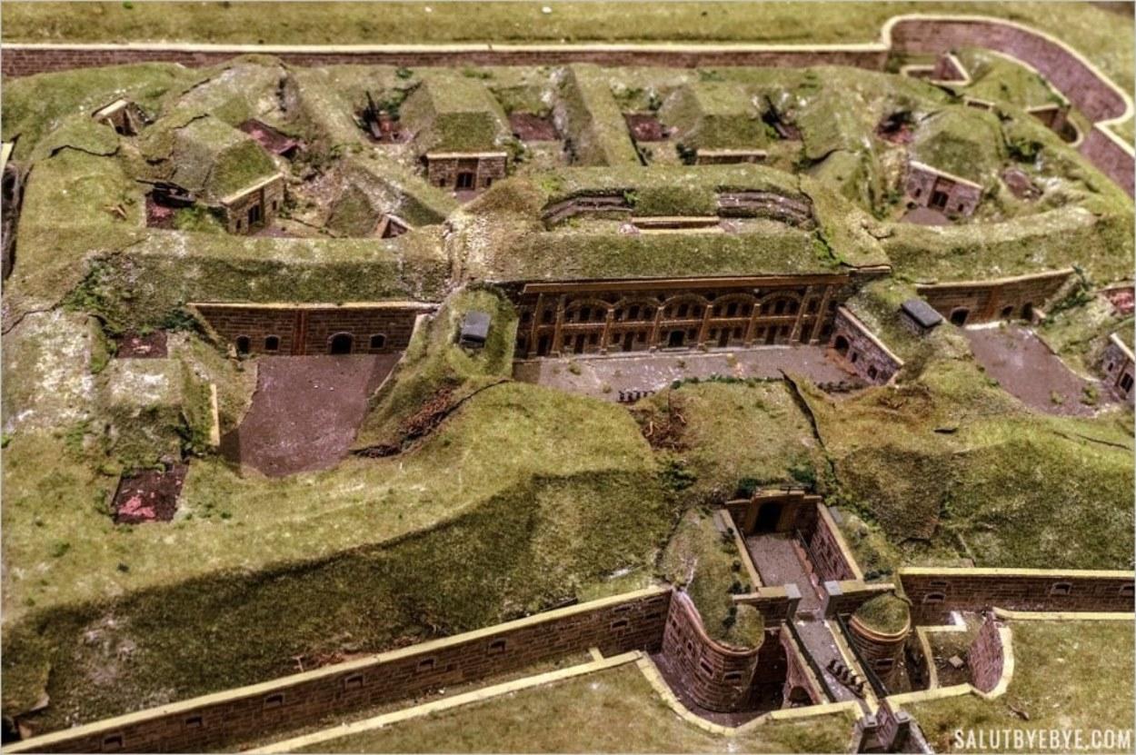 Maquette du Fort de Sucy