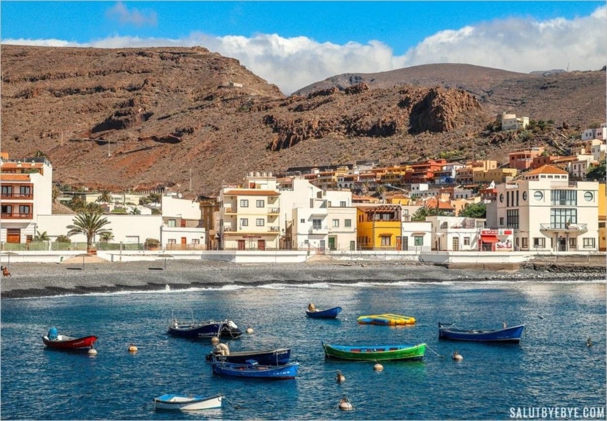 Port de Playa de Santiago, île de La Gomera