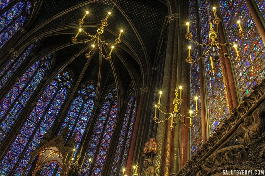 La Sainte Chapelle à Paris