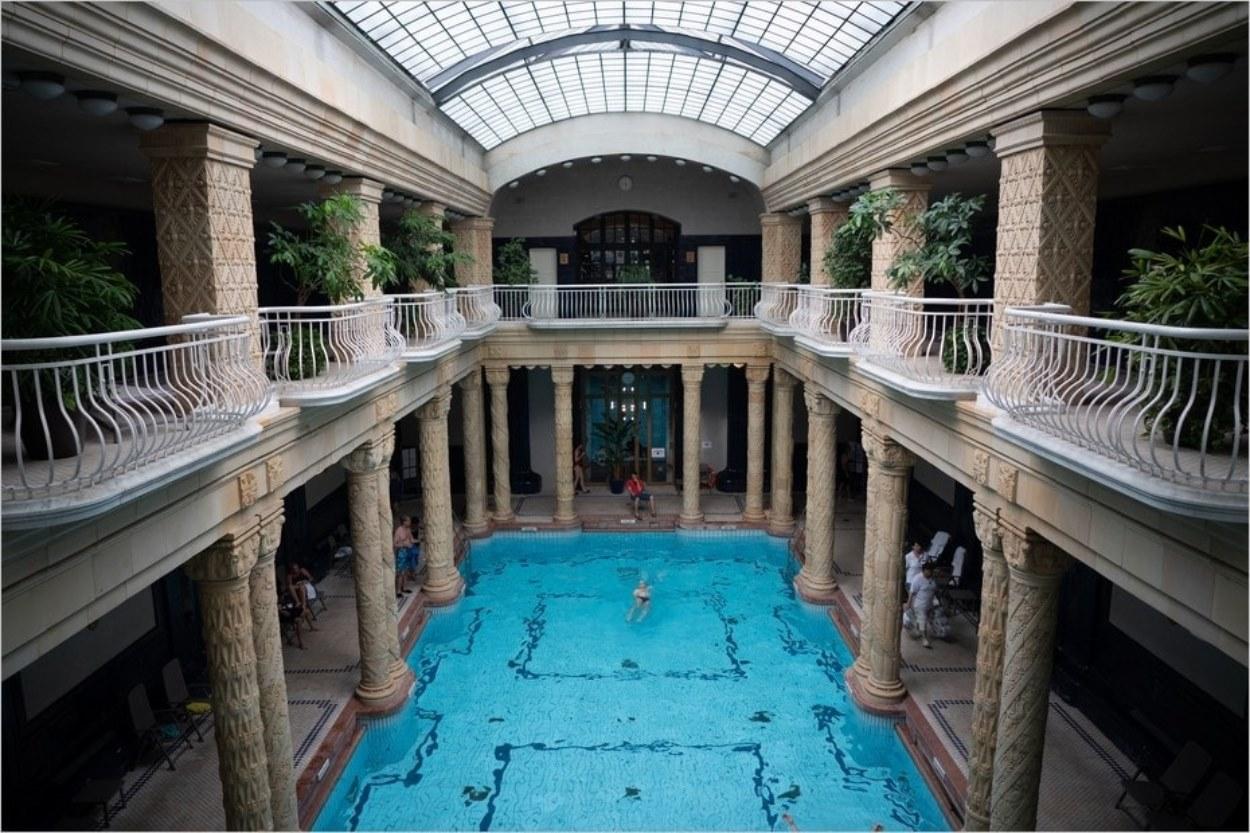 Les bains Gellert à Budapest