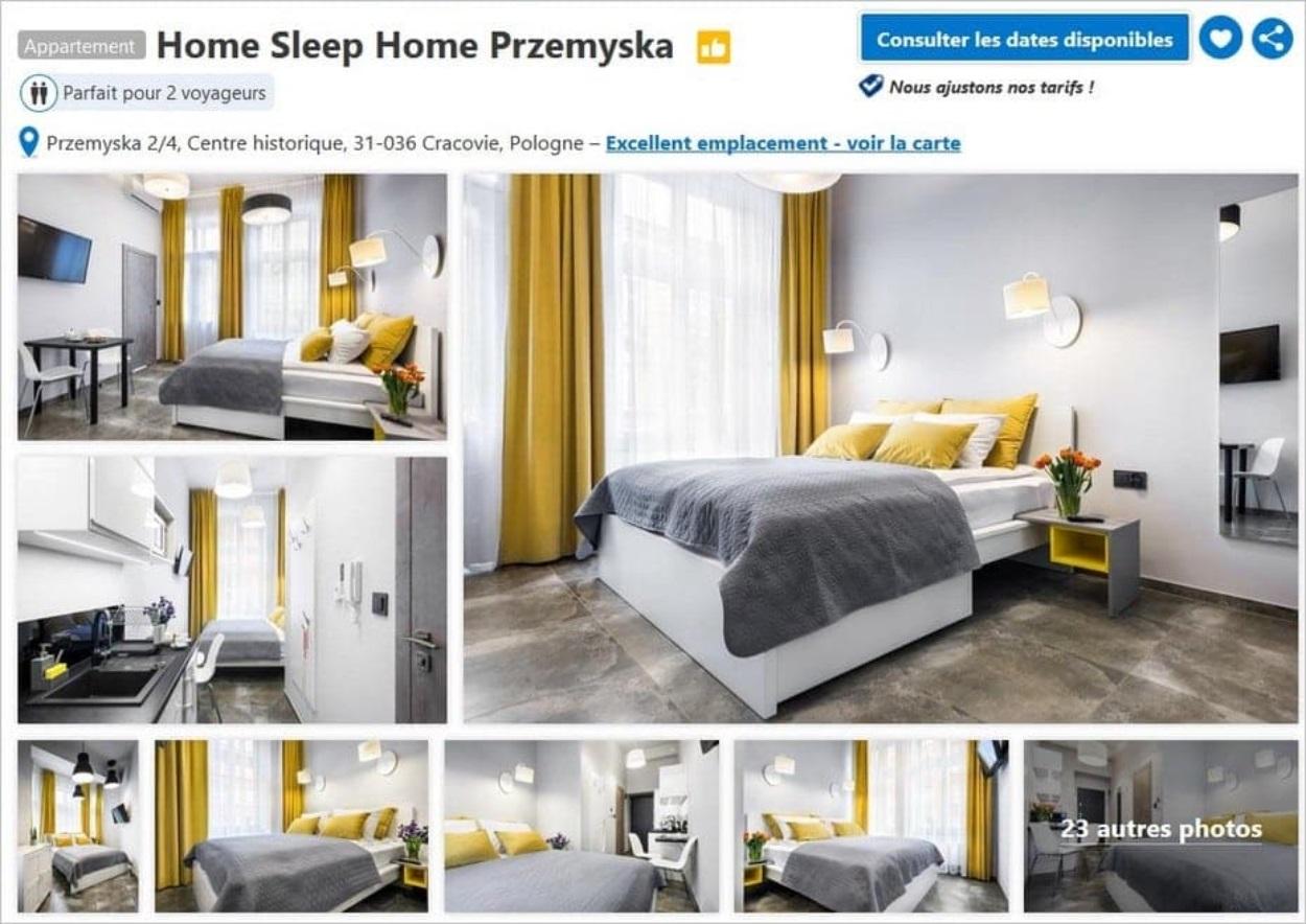Home Sleep Home Przemyska à Cracovie