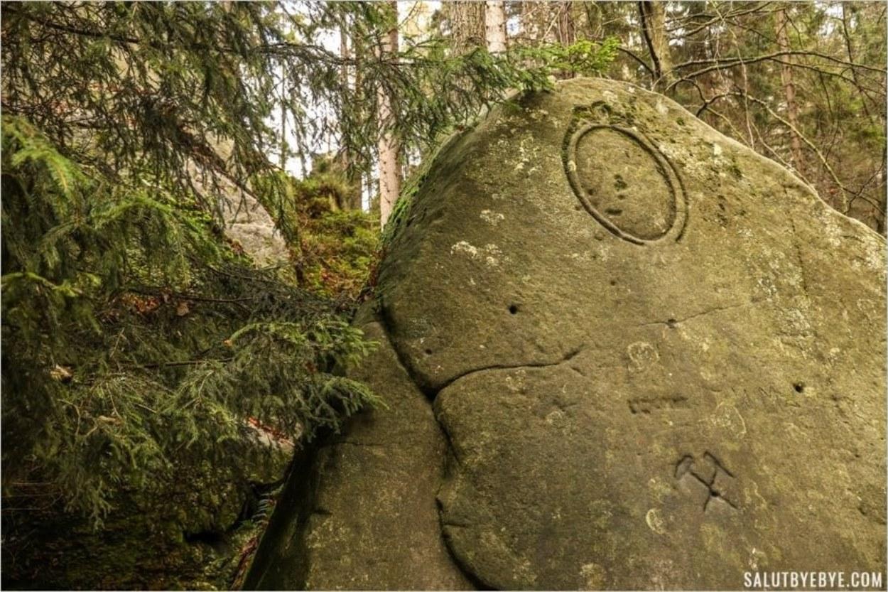 Le Rocher du Tonnerre - Adršpach Teplice Rock City