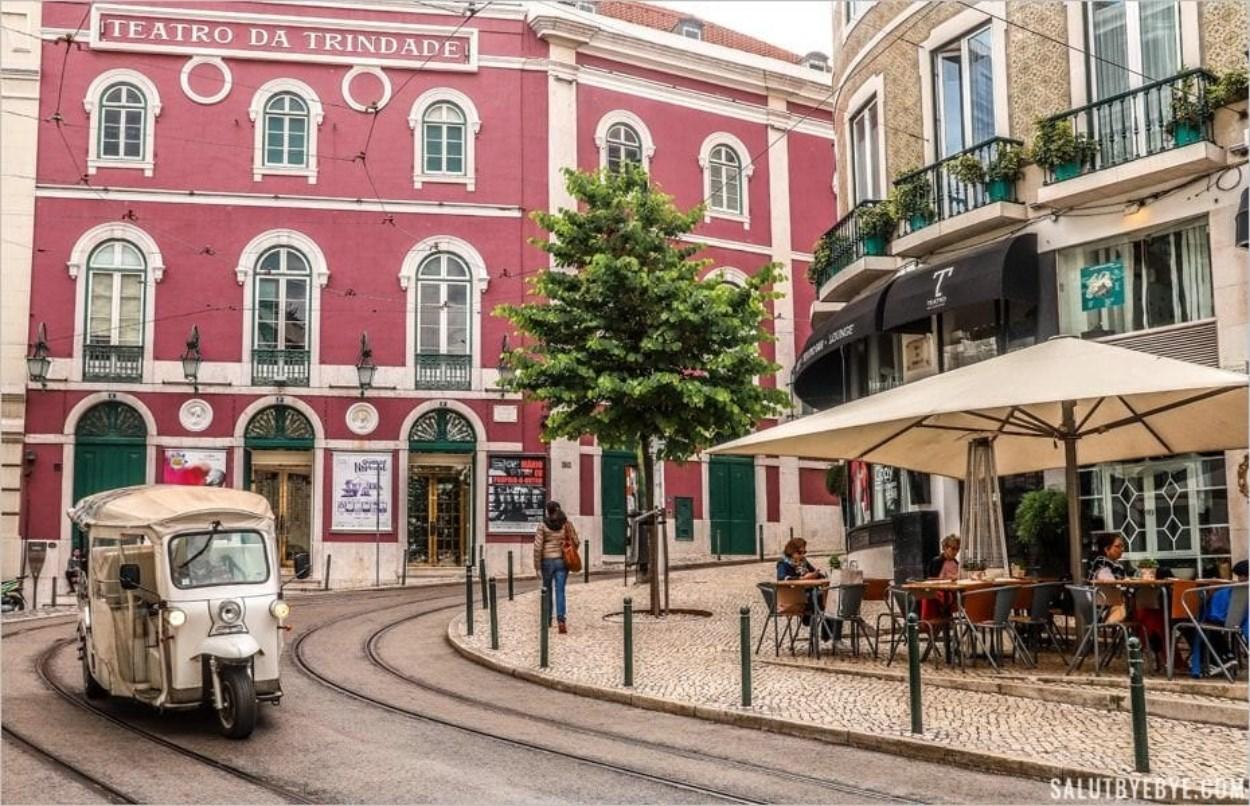 Le Teatro da Trindade à Lisbonne
