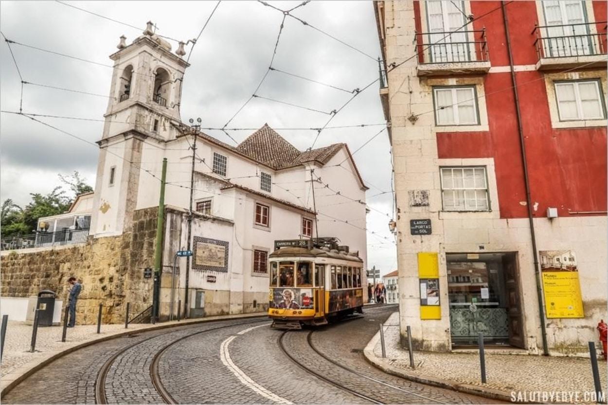 Découvrez le trajet du tram 28 de Lisbonne et son itinéraire à travers la ville