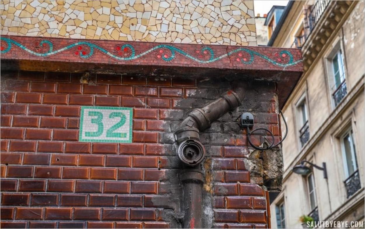 Le 32 rue Blondel à Paris