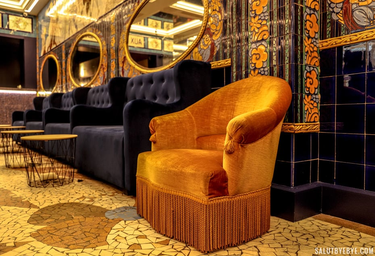 Décoration actuelle de la salle - Aux Belles Poules, Paris