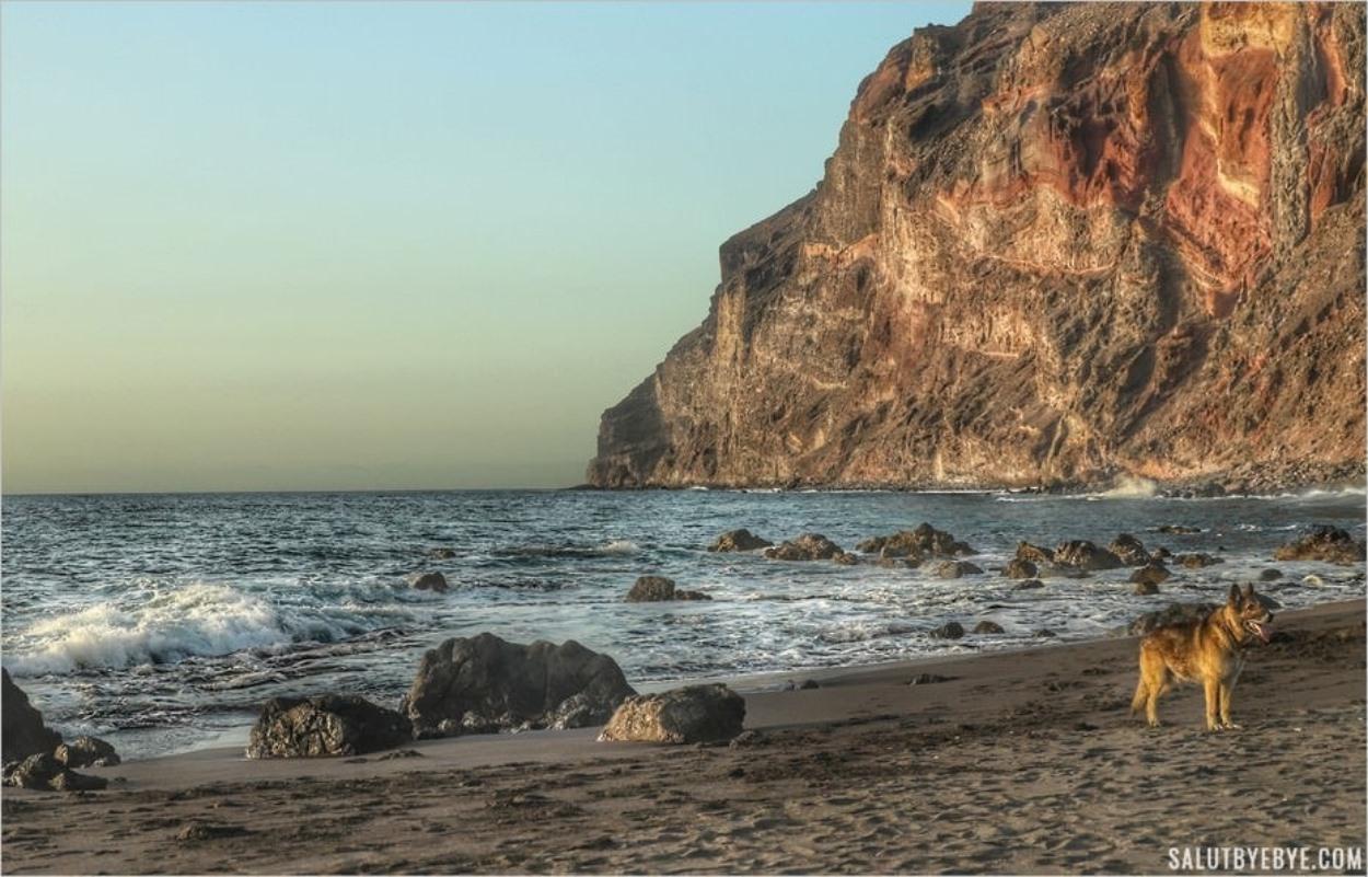 Playa del Inglés en fin de journée, Valle Gran Rey