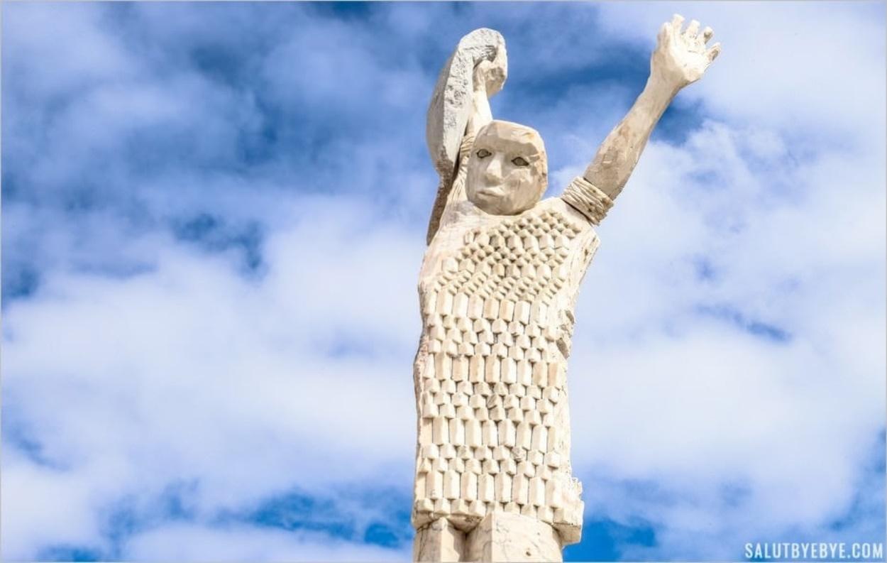 Sculpture vue à Cascais