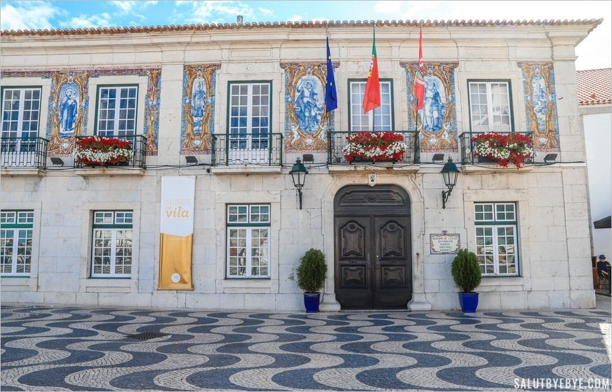 Mairie de Cascais au Portugal
