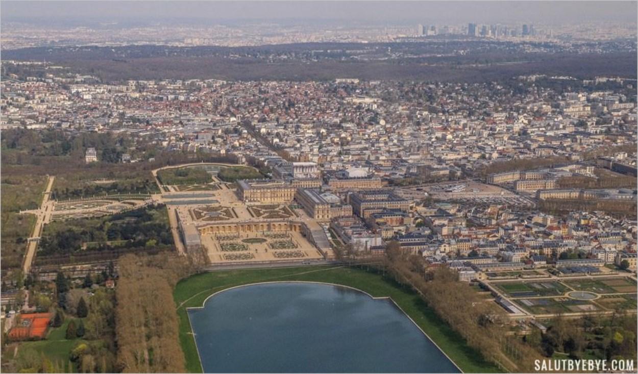 La pièce d'eau des Suisses à Versailles