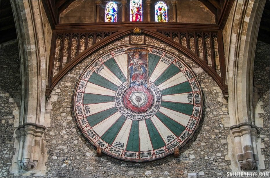 Winchester Great Hall - La table ronde