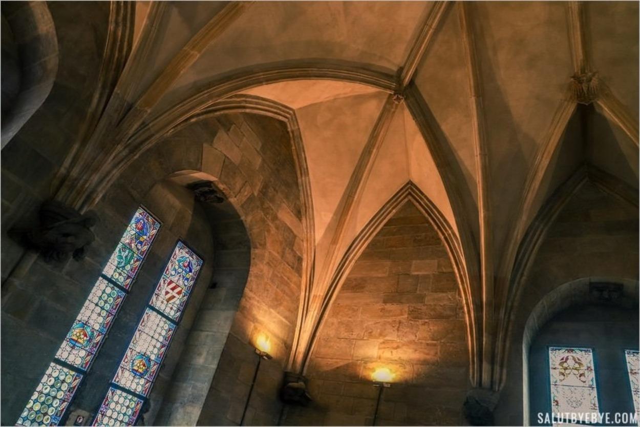 Intérieur de la Tour Poudrière de Prague