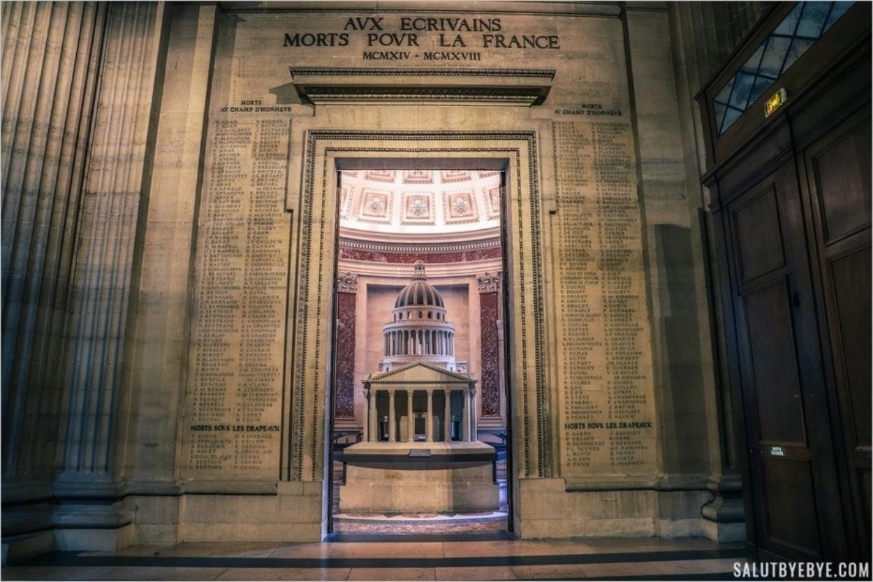 Maquette classée du Panthéon