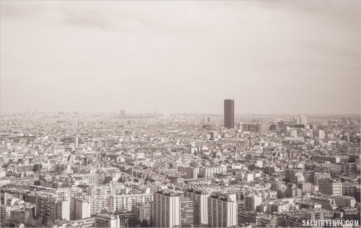 La Tour Montparnasse au cœur de Paris