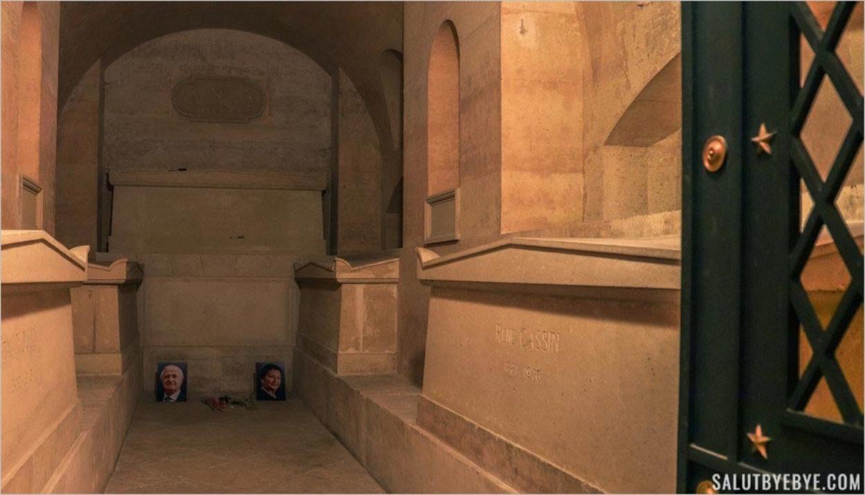 Tombe de Simone Veil au Panthéon
