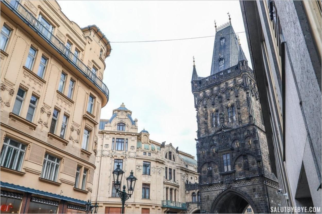 Tour Poudrière de Prague