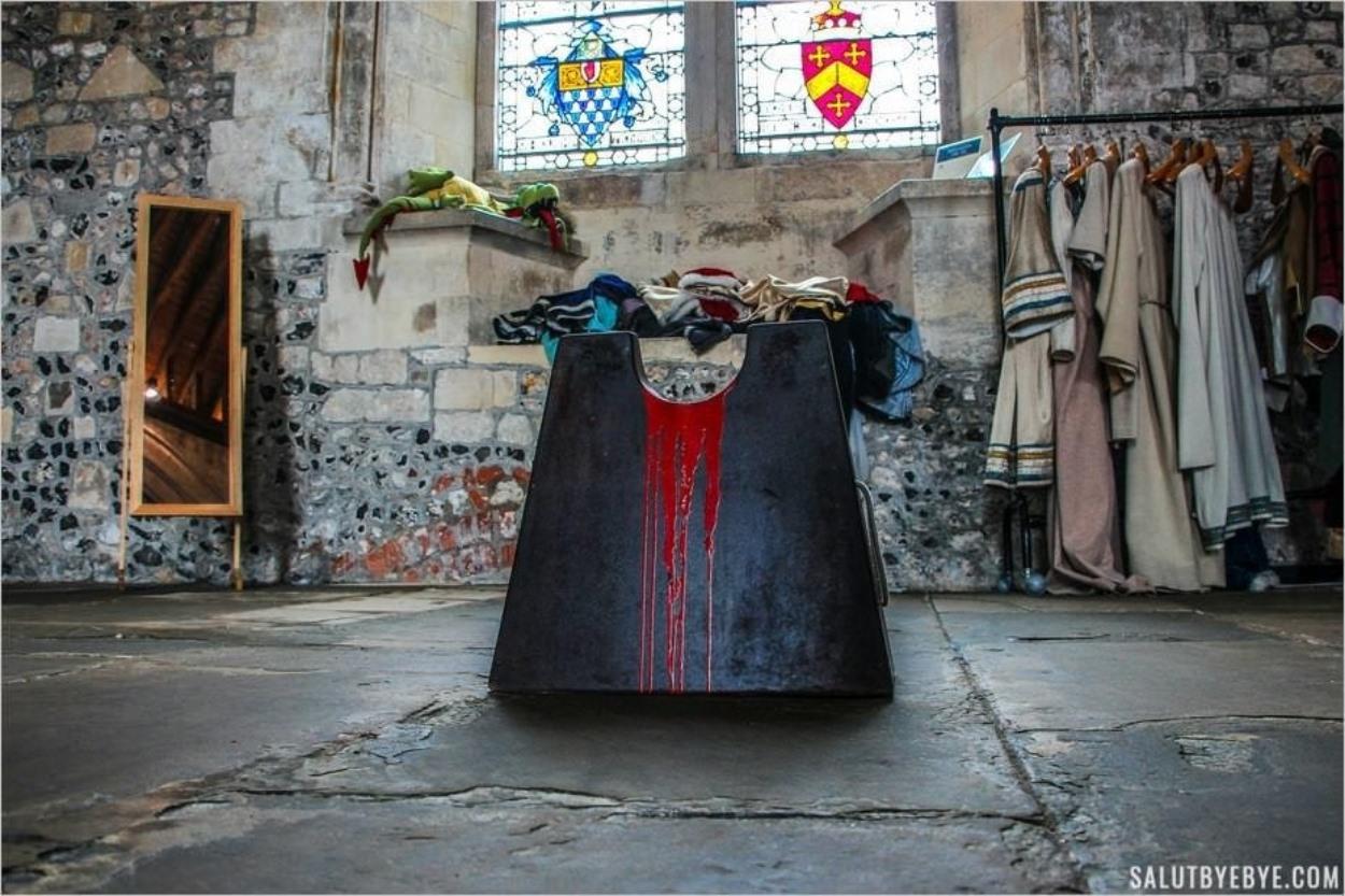Déguisements pour enfants dans le Great Hall de Winchester