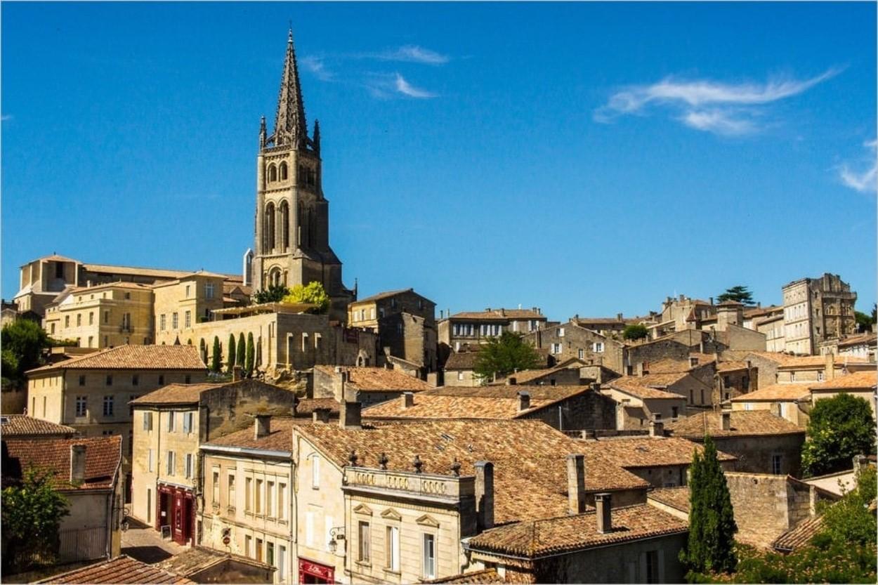 Saint-Émilion près de Bordeaux