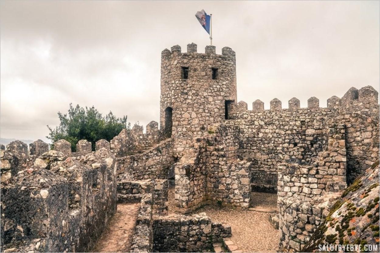 Le Castelo dos Mouros (château des Maures) à Sintra