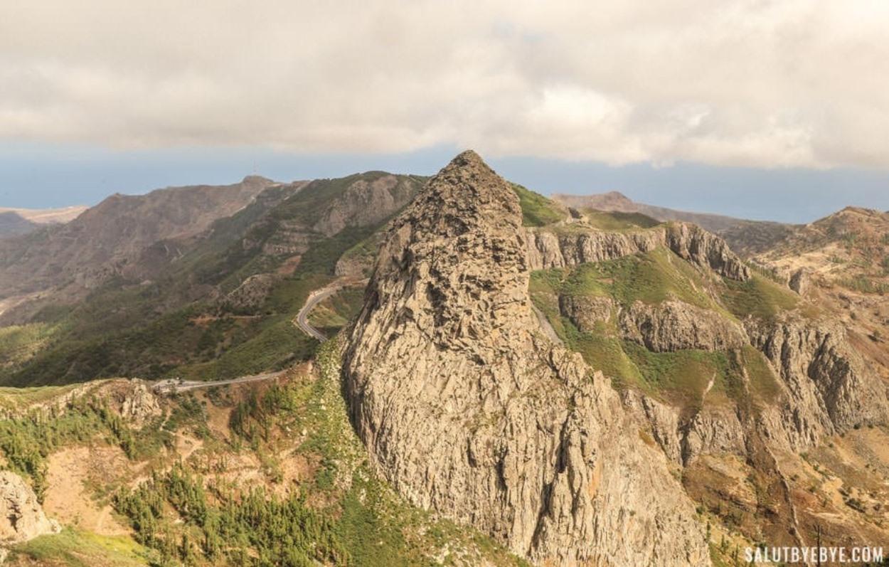 Le Roque Agando à La Gomera