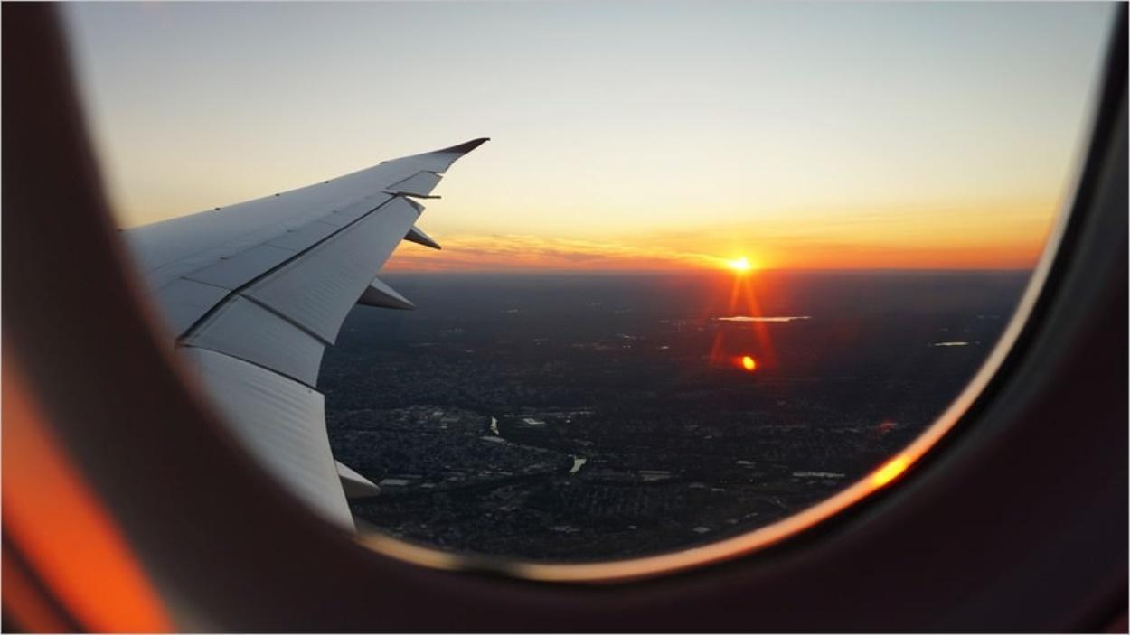 Profiter de la vue en avion en étant serein