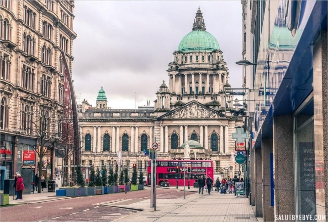 Belfast en Irlande du Nord