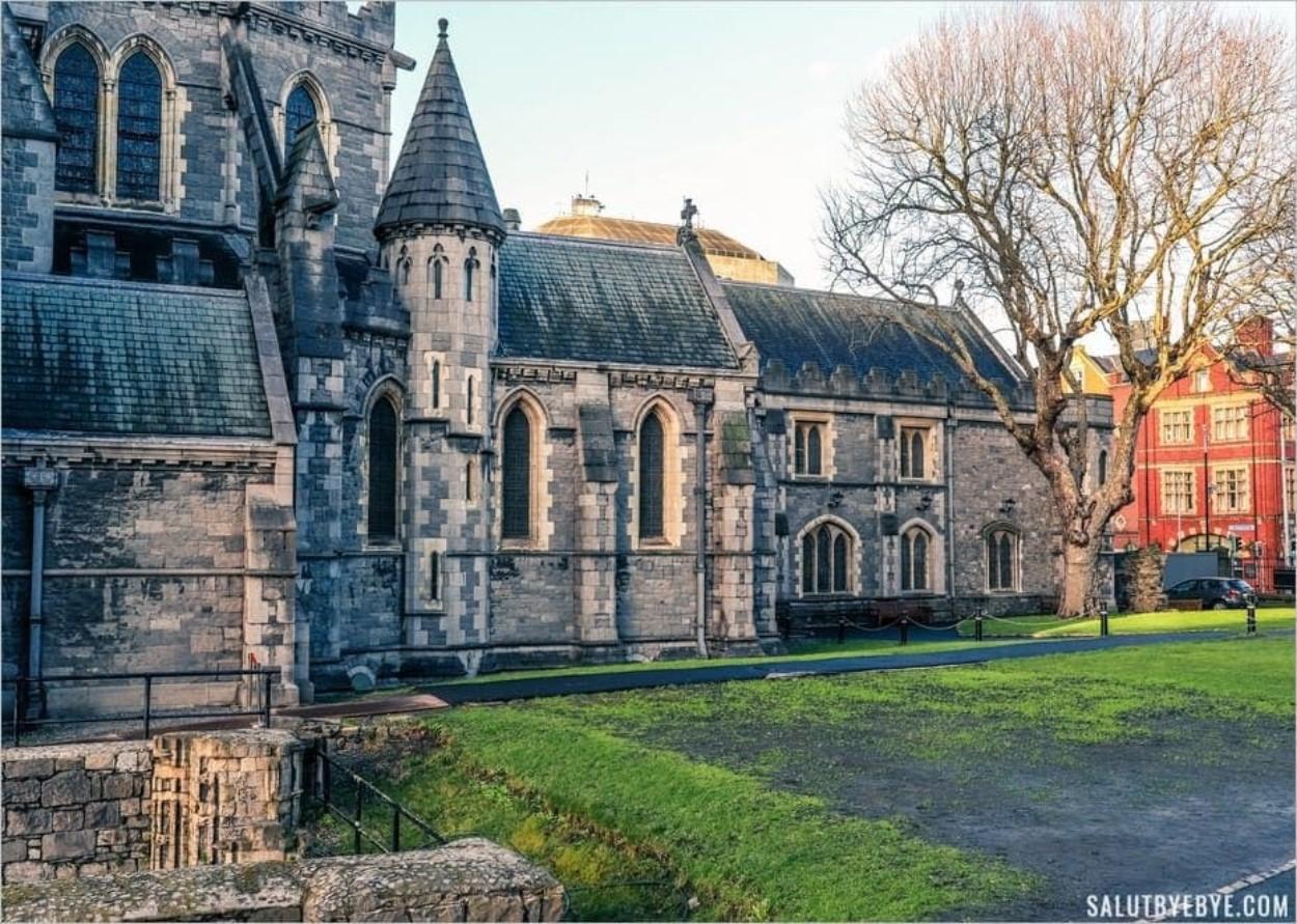 Autour de Christ Church à Dublin