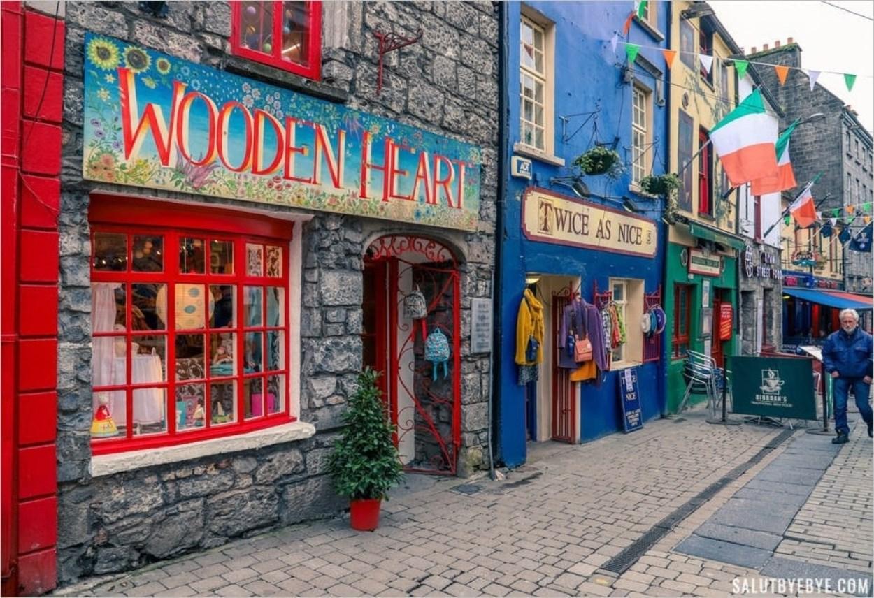 La ville de Galway en Irlande