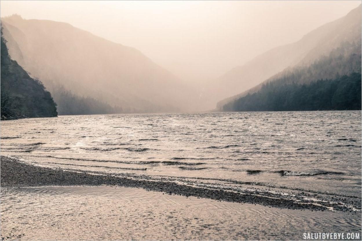 Les lacs de Glendalough en Irlande