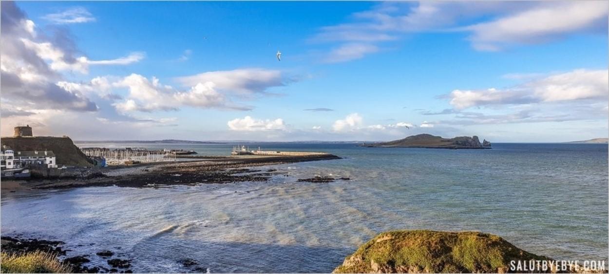 Le port de Howth - Itinéraire en Irlande
