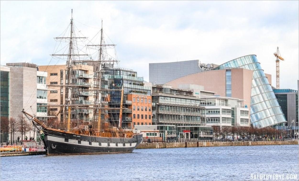 Jeanie Johnston Tall Ship à Dublin