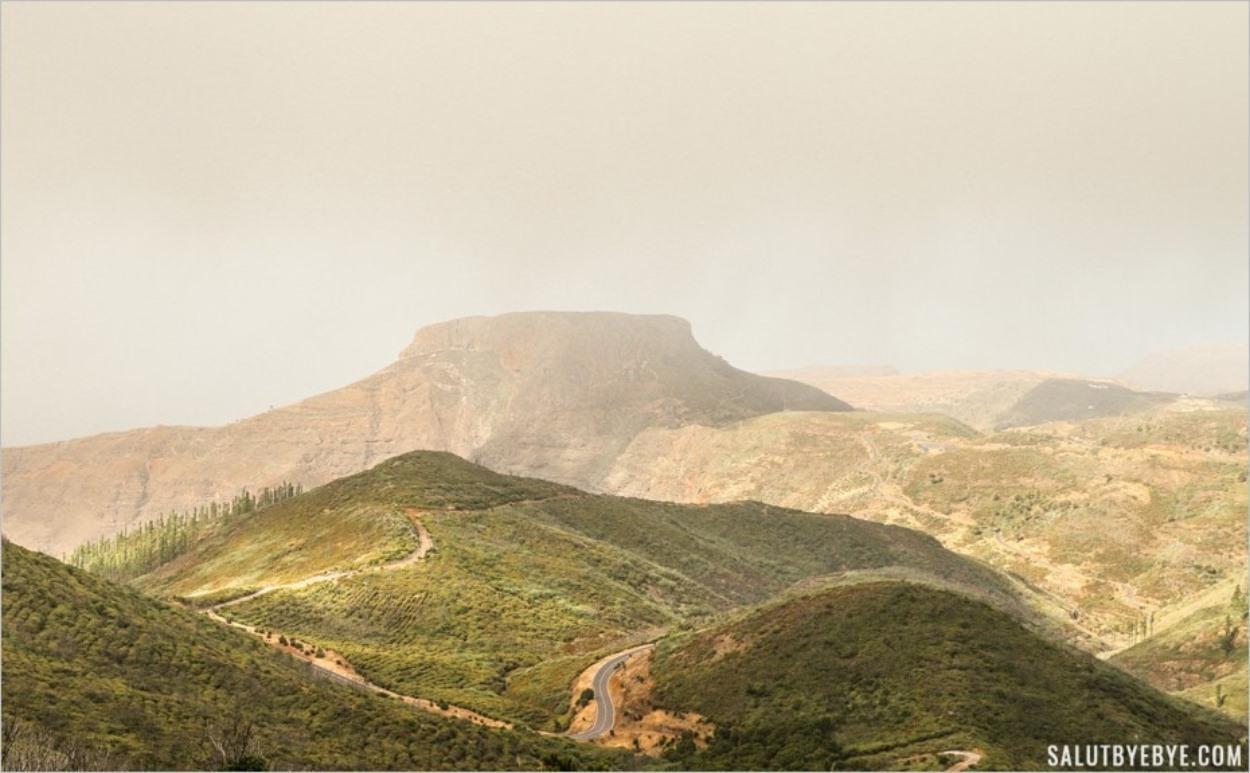 La Fortaleza de Chipude, ou Argodey - La Gomera