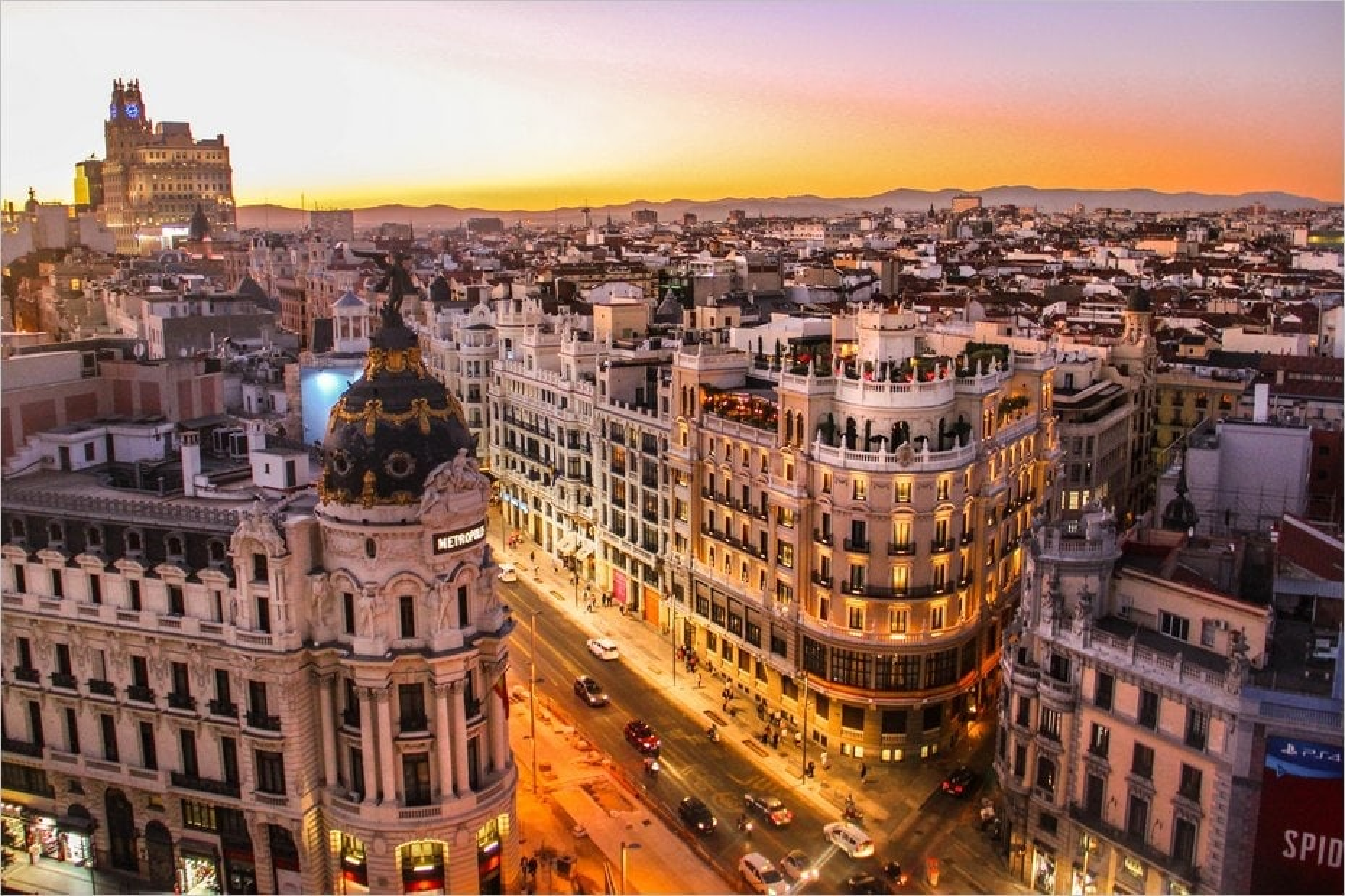 Madrid en Espagne
