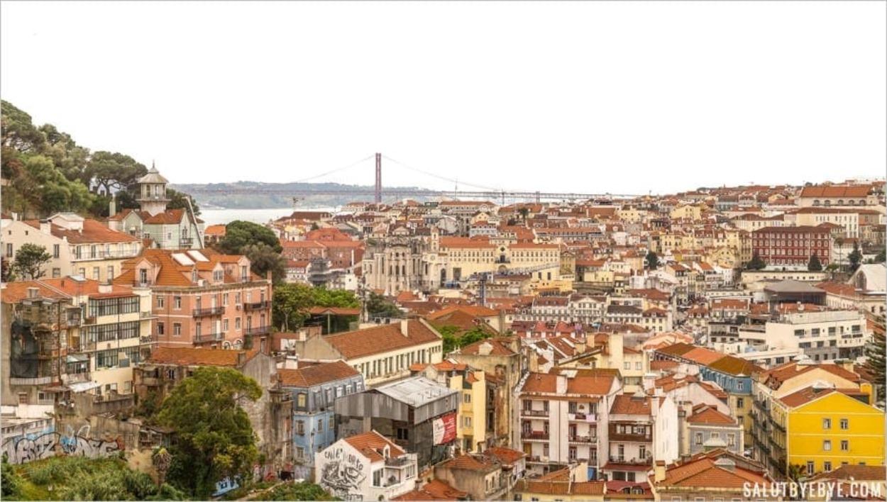 Où trouver la plus belle vue de Lisbonne ? Bonnes adresses à explorer !