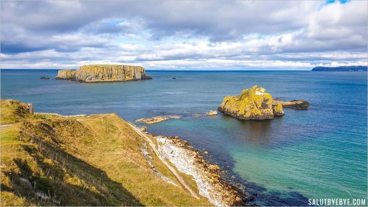 La côte d'Irlande du Nord