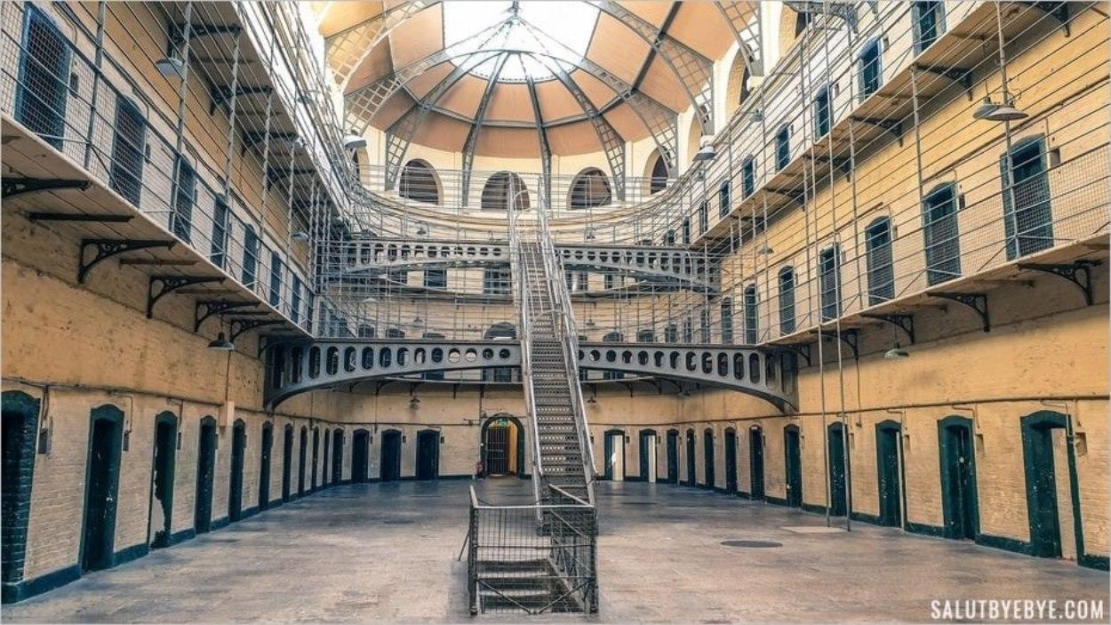 La prison de Kilmainham à Dublin