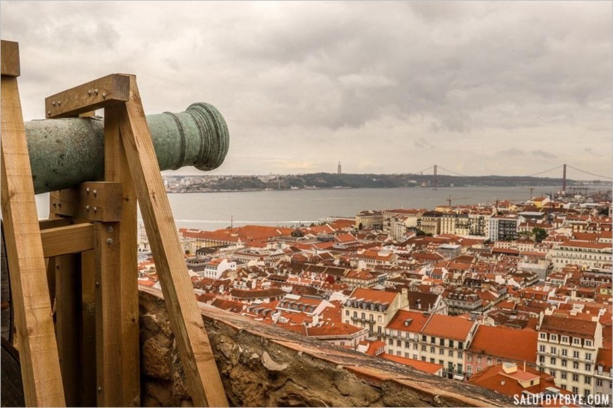 Le château de São Jorge à Lisbonne