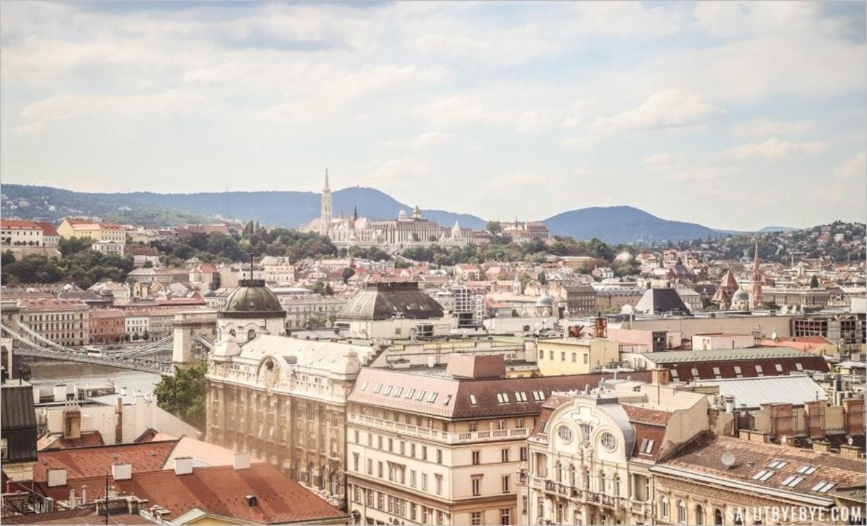 Bastion des Pêcheurs et église Matthias de Budapest