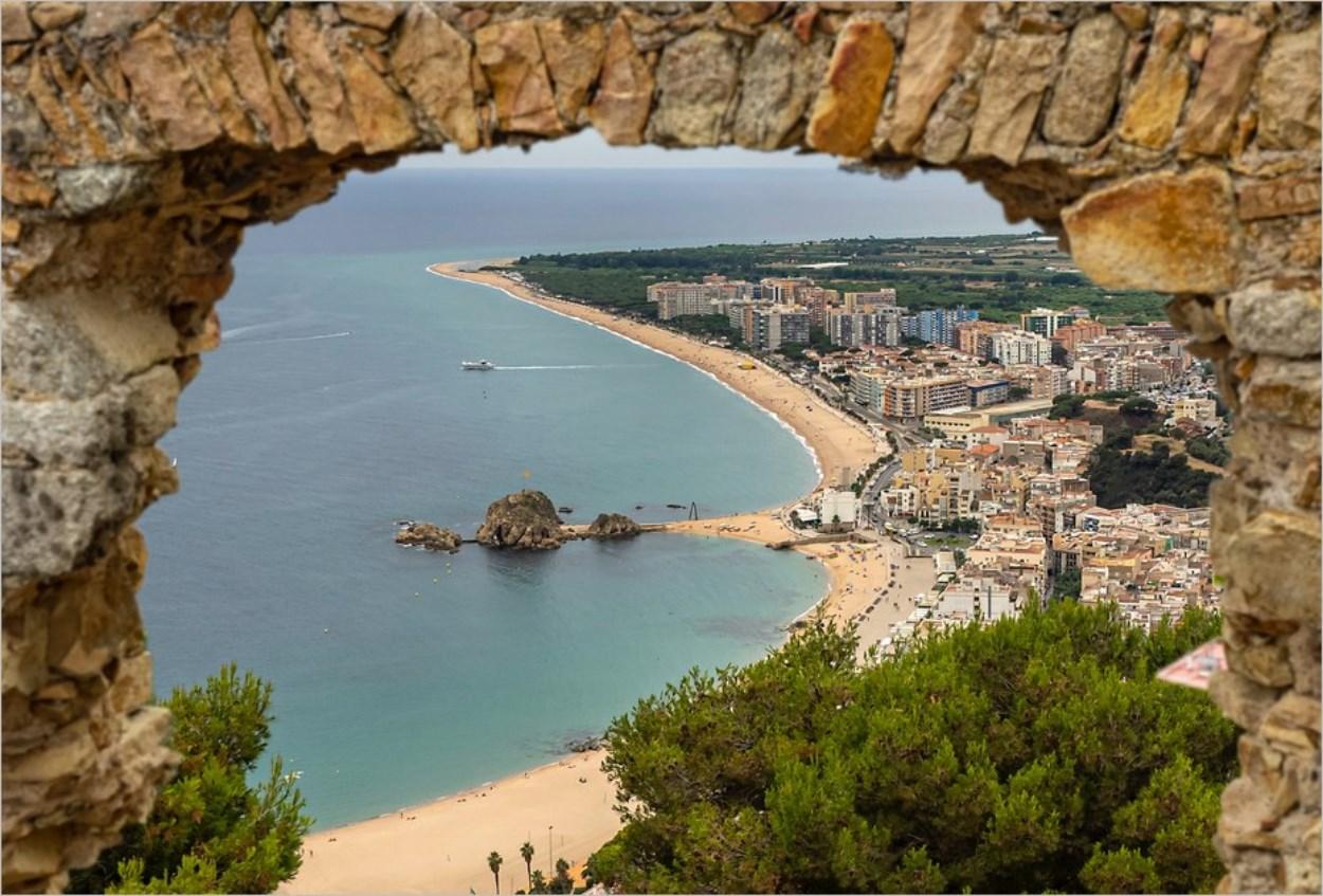 Blanes sur la Costa Brava en Espagne