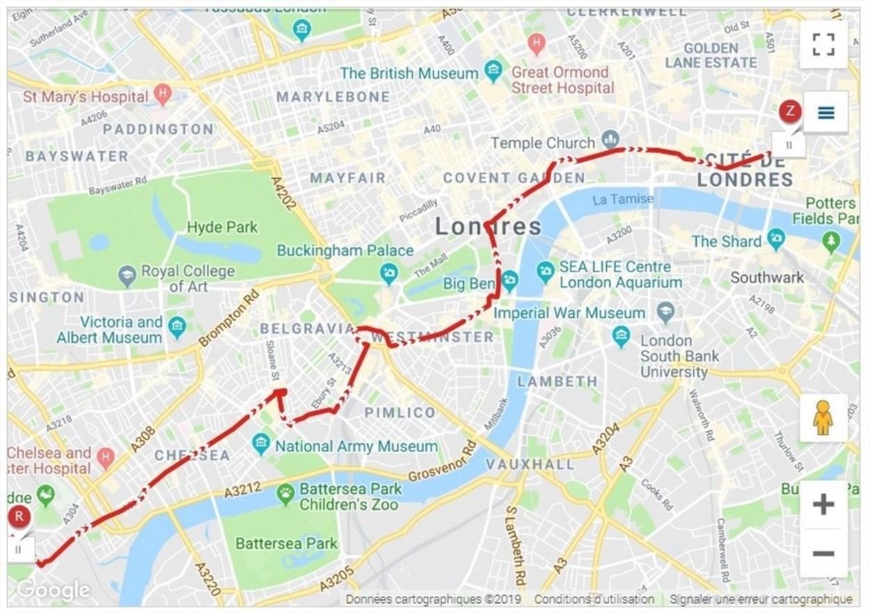 Visiter Londres en bus - Ligne 11