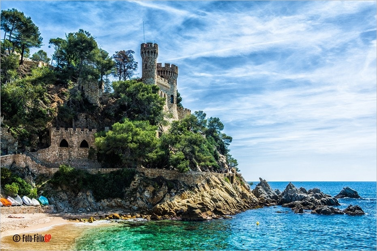 Castillo d'en Plaja à Lloret de Mar