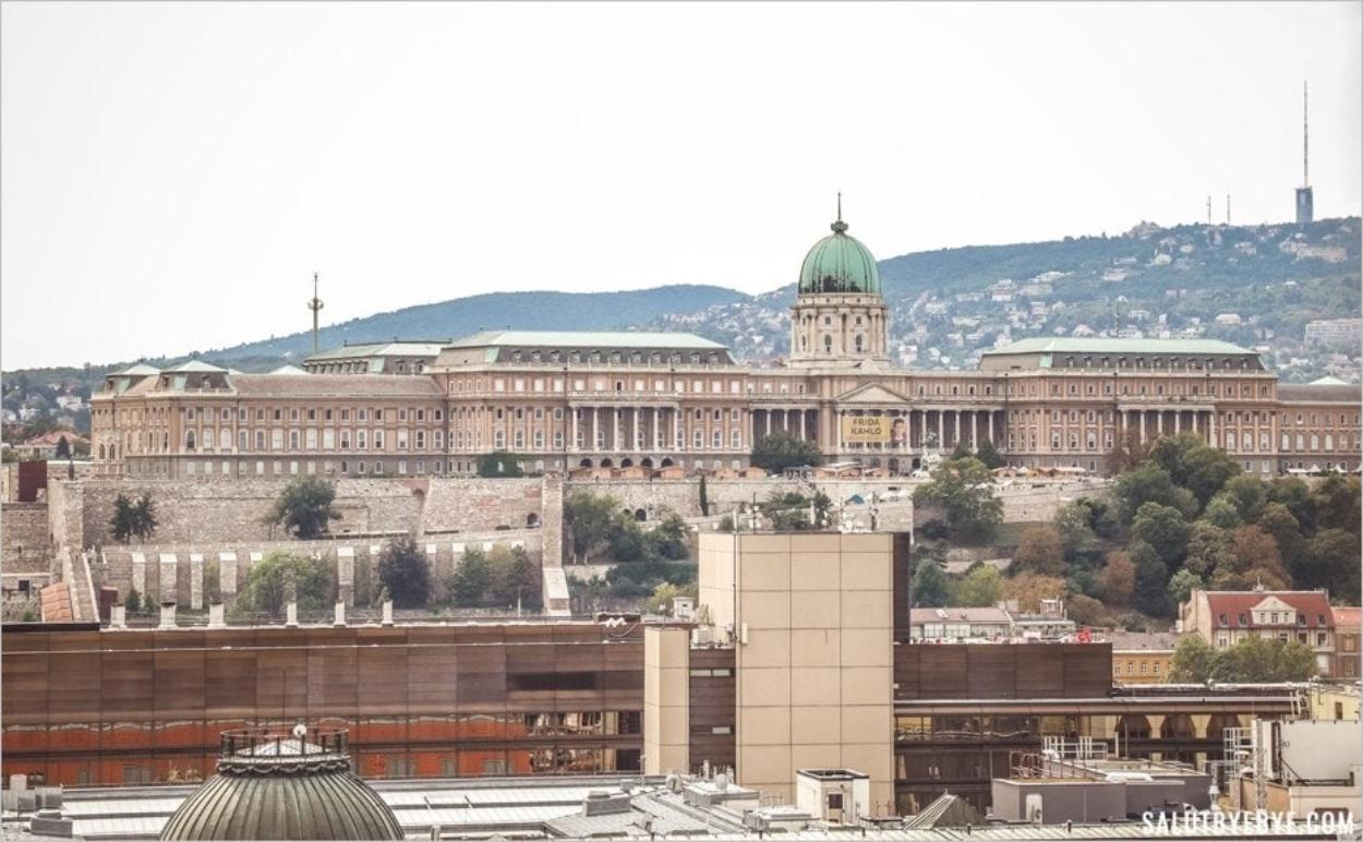 Le Palais de Budavár à Budapest