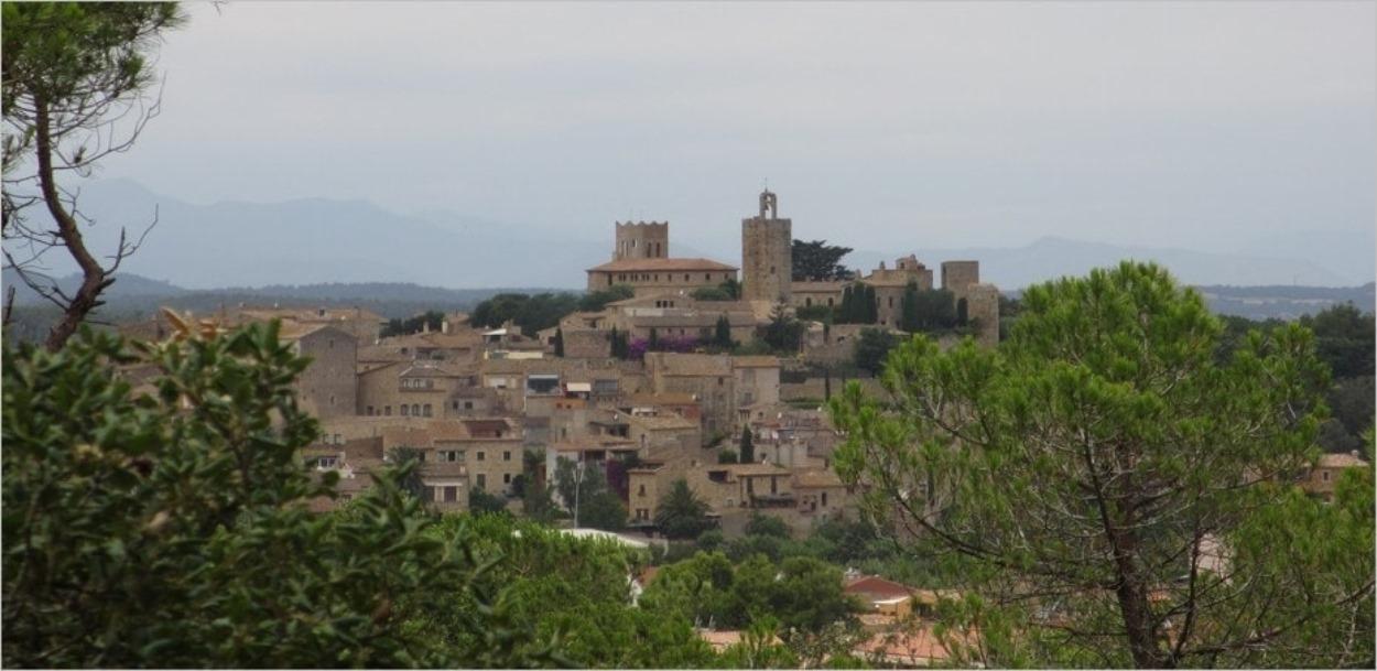 Le village médiéval de Pals sur la Costa Brava