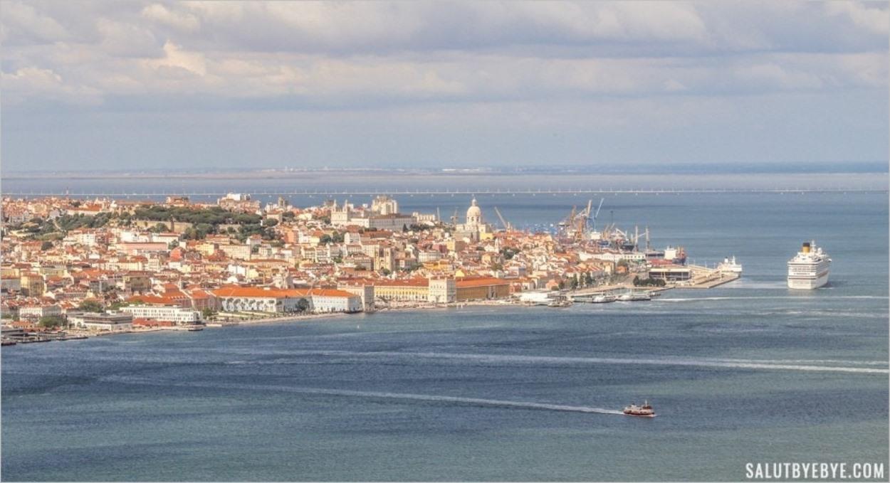 Lisbonne depuis le Cristo Rei