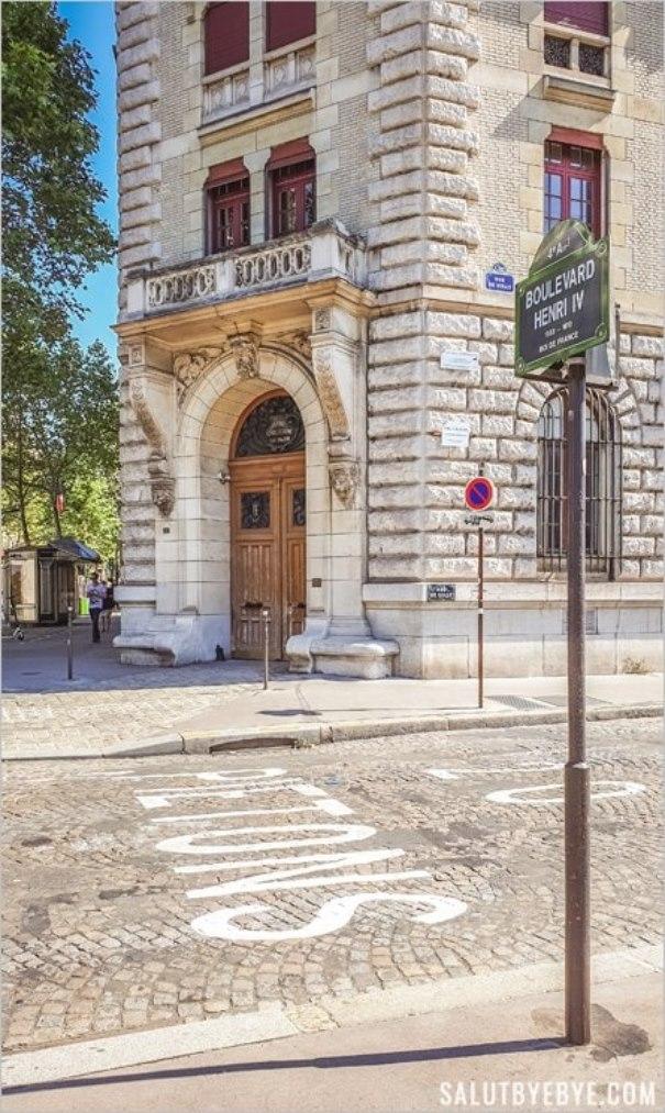 Quartier des Célestins à Sully-Morland, Paris 4