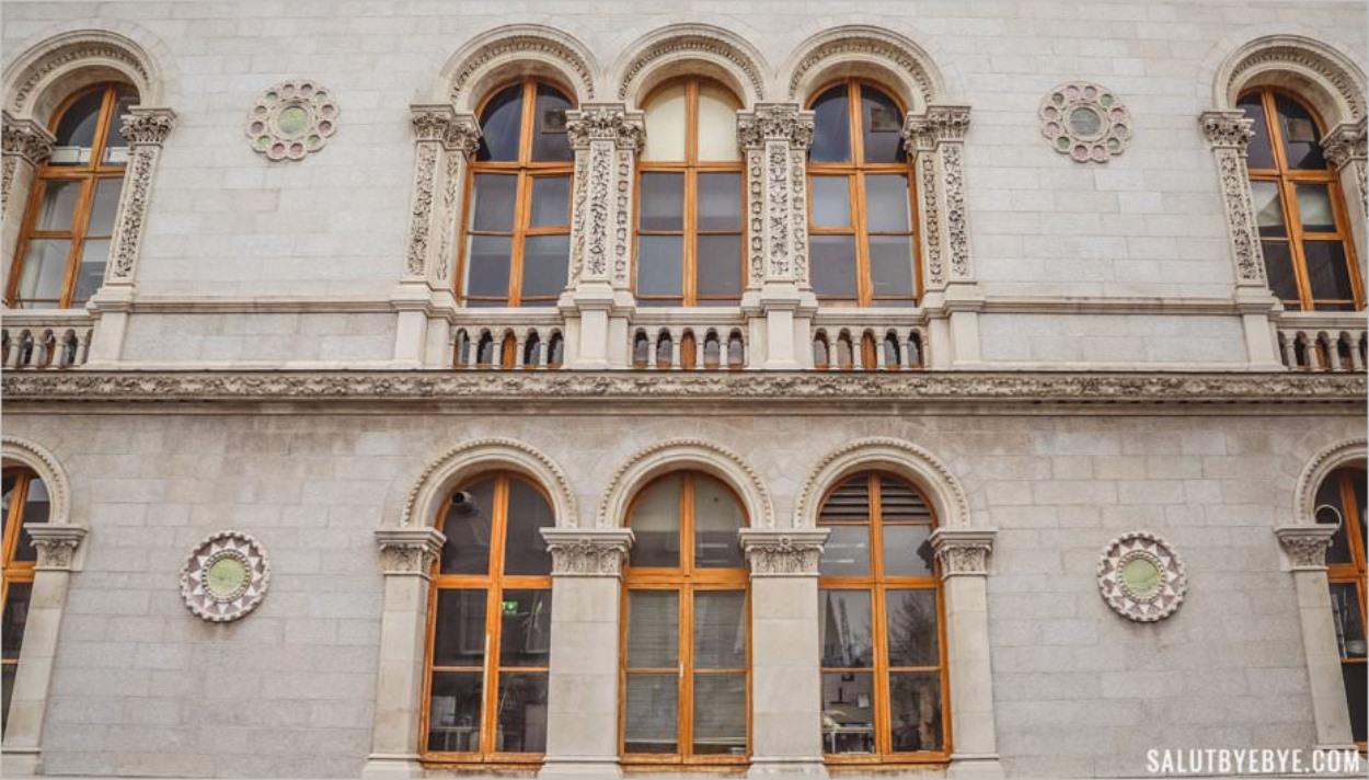 Architecture du Trinity College de Dublin