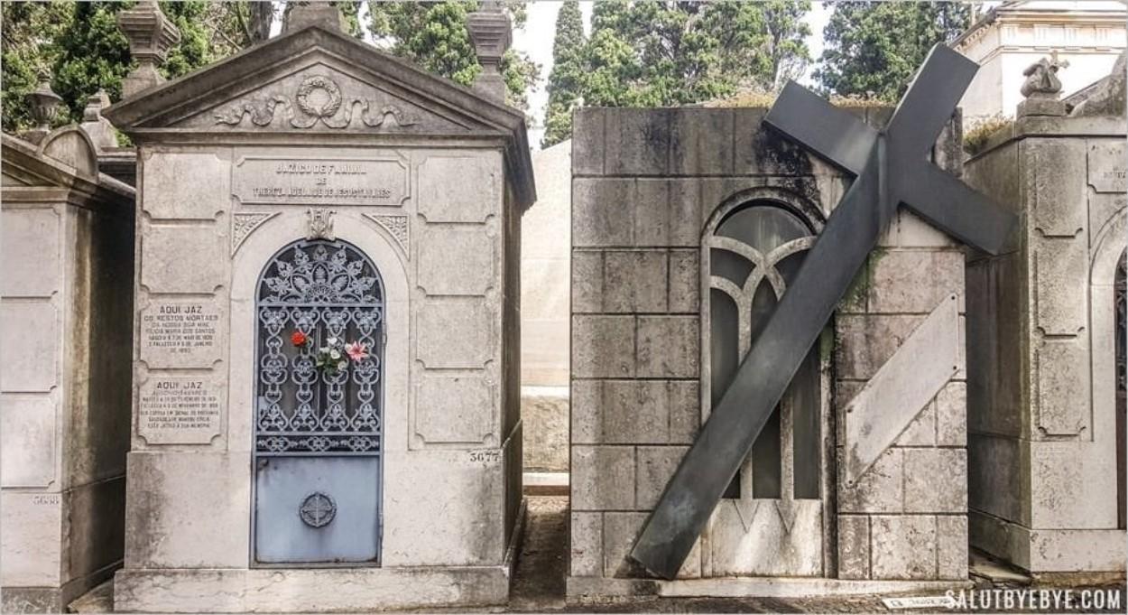 A la découverte du cimetière Dos Prazeres à Lisbonne