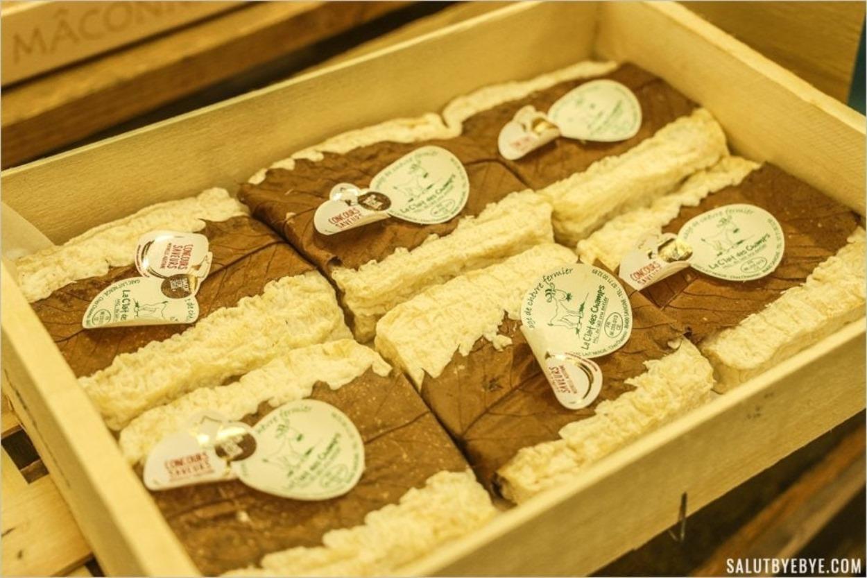 Fromage de chèvre - Visite du marché de Rungis