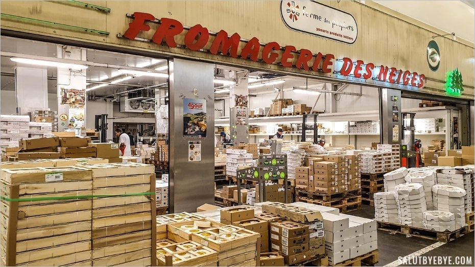 Fromagerie à Rungis