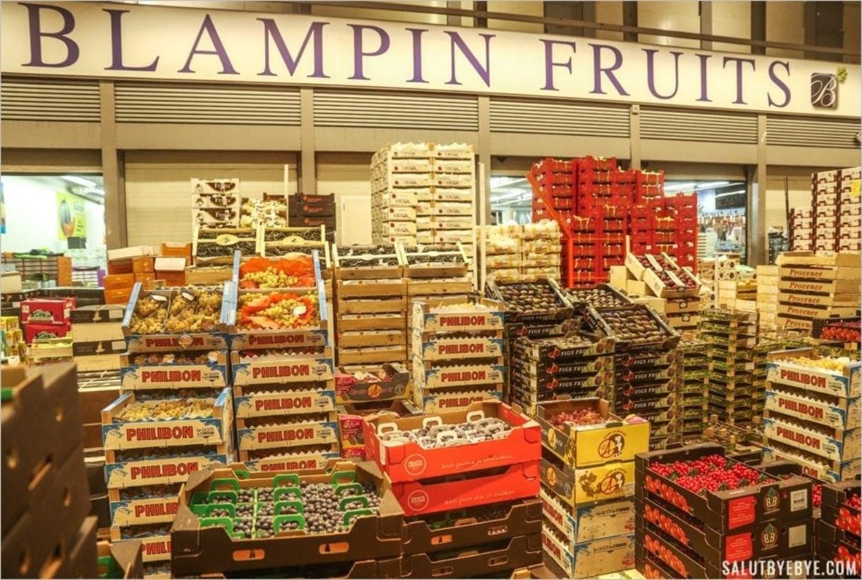 Visite du marché de Rungis : Blampin Fruits